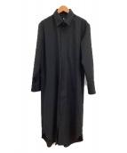GROUND Y(グラウンドワイ)の古着「ロングコート」|ブラック