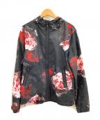 ami(アミ)の古着「ナイロンジャケット」|ブラック×ピンク
