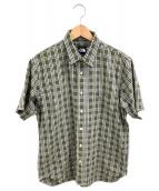 THE NORTH FACE(ザノースフェイス)の古着「半袖シャツ」|オリーブ