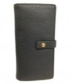 COCOCELUX GOLD(ココセリュックスゴールド)の古着「長財布」|グレー×ボルドー