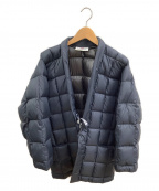 VOTE MAKE NEW CLOTHES(ヴォートメイクニュークローズ)の古着「ダウンジャケット」|ネイビー
