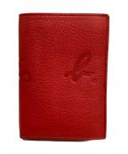 agnes b voyage(アニエスベーボヤージュ)の古着「2つ折り財布」|レッド