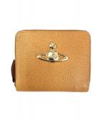 Vivienne Westwood(ヴィヴィアンウエストウッド)の古着「ラウンドファスナー財布」 カーキ