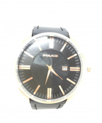 POLICE(ポリス)の古着「腕時計」 ブラック