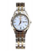 SEIKO(セイコー)の古着「腕時計」|ホワイト×ゴールド