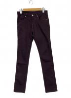 UNUSED(アンユーズド)の古着「パンツ」|パープル