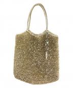ANTEPRIMA(アンテプリマ)の古着「ワイヤーバッグ」|ゴールド×シルバー
