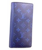 ()の古着「タイガラマ ポルトフォイユ・ブラザ」 ブルー