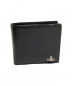 Vivienne Westwood(ヴィヴィアンウエストウッド)の古着「2つ折り財布」|ブラック
