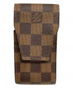 LOUIS VUITTON(ルイ ヴィトン)の古着「エテュイ・シガレット」|ブラウン