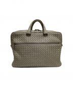 BOTTEGA VENETA(ボッテガベネタ)の古着「ビジネスバッグ」|グレー