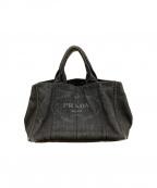 PRADA(プラダ)の古着「ハンドバッグ」|ブラック