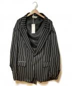 NEON SIGN()の古着「ファンクションジャケット」|ブラック×ホワイト SIZE L