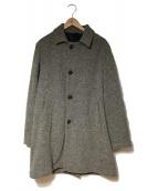 McRitchie(マックリッチ)の古着「ステンカラーコート」|グレー