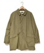 A vontade(アボンタージ)の古着「ステンカラーコート」|オリーブ