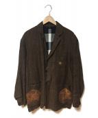 KOROMO(コロモ)の古着「ピュアリネンジャケット」|ブラウン