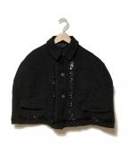 COMME des GARCONS COMME des GARCONS()の古着「ポンチョ」 ブラック