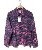 Deluxe(デラックス)の古着「シャツ」|ネイビー×ピンク
