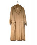 MaxMara(マックスマーラ)の古着「チェスターコート」|キャメル