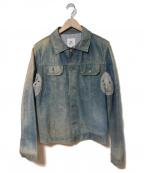 MANDO(マンドー)の古着「レザージャケット」|インディゴ