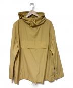 DESCENTE PAUSE(デサントポーズ)の古着「ナイロンジャケット」 イエロー