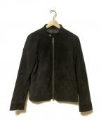 LHP(エルエイチピー)の古着「シングルライダースジャケット」 ブラック