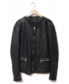 A vontade(アボンタージ)の古着「Cafe Racer Jacket」|ブラック