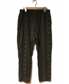 south2 west8(サウスツーウエストエイト)の古着「String Slack Pant」|カーキ