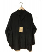 KAPTAIN SUNSHINE(キャプテン サンシャイン)の古着「Riviera L/S Shirt」|ブラック