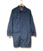 UNIVERSAL LANGUAGE(ユニバーサルランゲージ)の古着「ナイロンスプリングコート」|レッド