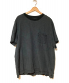 BRU NA BOINNE(ブルーナボイン)の古着「ベラスT」|ブラック