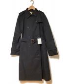 UNITED ARROWS(ユナイテッドアローズ)の古着「トレンチコート」|ブラック