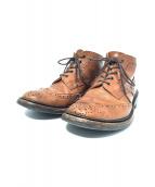 Trickers(トリッカーズ)の古着「ブーツ」|ブラウン