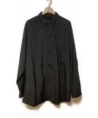 TEATORA(テアトラ)の古着「シャツジャケット」|ブラック