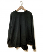 WELLDER(ウェルダー)の古着「Twisted T-shirt」|ブラック