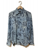 HYDROGEN(ハイドロゲン)の古着「デニムシャツ」 インディゴ