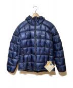 mont-bell(モンベル)の古着「プラズマ1000 アルパインダウンパーカ」|ブルー