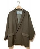 Dulcamara(ドゥルカマラ)の古着「よそいきダブルジャケット」|ブラウン