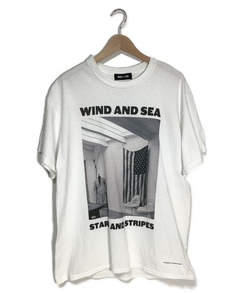WIND AND SEA(ウィンダンシー)WIND AND SEA (ウィンダンシー) WDS PHOTO T-SHIRT ホワイト サイズ:不明の古着・服飾アイテム