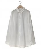 teatora()の古着「CARTRIDGE SHIRT」|ホワイト