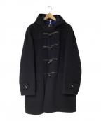 GLOVER ALL(グローバーオール)の古着「ロングダッフルコート」|ブラック