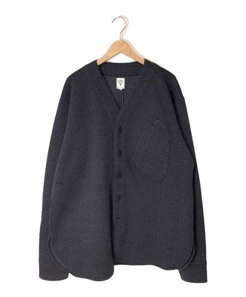 South2 West8(サウスツーウエストエイト)south2 west8 (サウスツーウエストエイト) Scouting Shirt ネイビー サイズ:M 未使用品の古着・服飾アイテム
