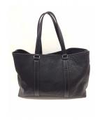 土屋鞄(ツチヤカバン)の古着「トートバッグ」 ブラック