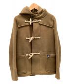 ORCIVAL(オーシバル)の古着「メルトンショートダッフル」|ブラウン