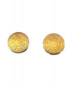 HERMES(エルメス)の古着「セリエイヤリングGM」|ゴールド