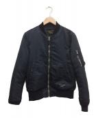 WACKO MARIA(ワコマリア)の古着「MA-1ジャケット」|ブラック