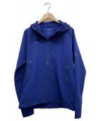 MAMMUT(マムート)の古着「ランボルトトレイルフーデッド」|ブルー
