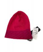 FENDI(フェンディ)の古着「ニット帽」|ピンク