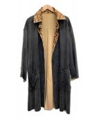FENDI(フェンディ)の古着「リバーシブルコート」|グレー×ベージュ