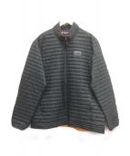 Patagonia(パタゴニア)の古着「ダウンシャツ」|グリーン